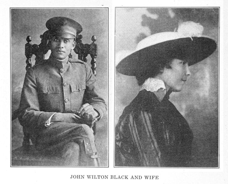 John Wilton Black and wife.