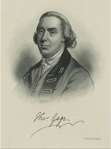 Genl. Thomas Gage.