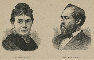 Mrs. James A. Garfield. President James A. Garfield.