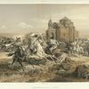 Armenie. Escarmouche de Persans et de Kurdes.