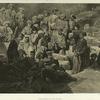 Daghestan. Repas militaire a Sioukh en Avarie.