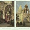 Armenie. Eglise d'Etchmeadzine (deux vues).