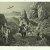 Armenie. Chasse au faucon, environs d'Erivan.