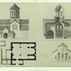 Georgie. Plan, coupe et exterieur de l'eglise de Bethanie.