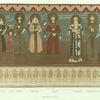 Imeres. Fresques de l'eglise de Ghelathi.