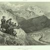 Daghestan. Montagne de Tilitle, village de Holotle.