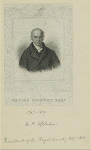Davies Gilbert.