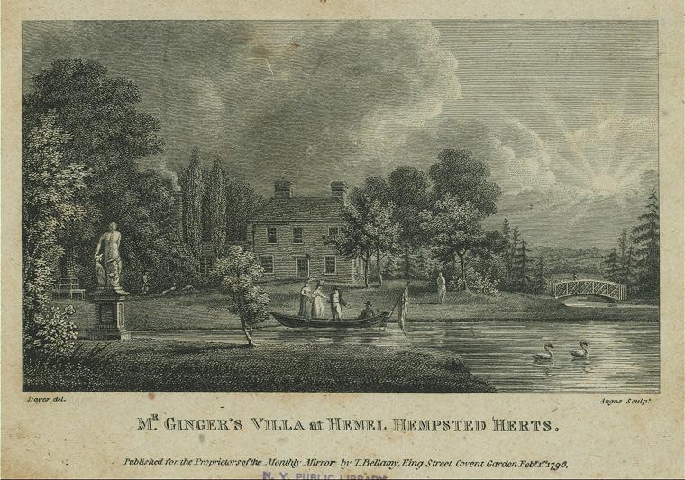Mr. Ginger's Villa at Hemel Hempstead Herts.