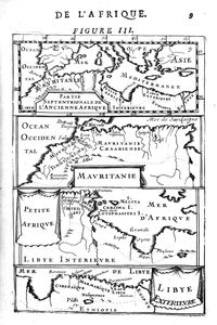 Partie Septentrionale de L'Ancienne Afrique; Mauritanie; Petite Afrique; Libye Exterieure.