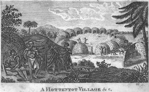 A Hottentot Village & c.