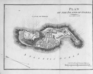 Plan of the Island of Goree.