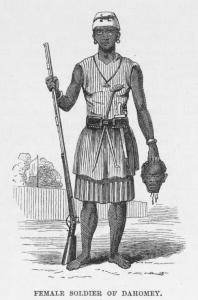 Female Soldier of Dahomey