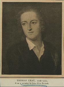 Portrait of Thomas Gray
