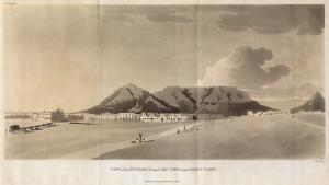 View of the Entrance into Cape... Digital ID: 1248287. New York Public Library