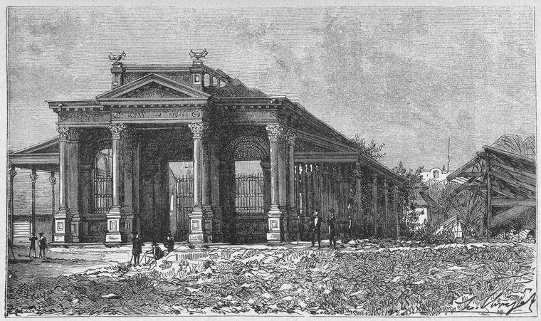 La Banque nationale d'Haiti, au Port-au-Prince. (page 218).
