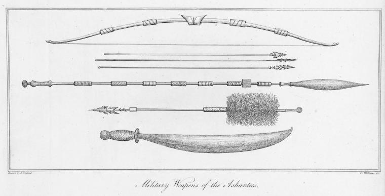 Military Weapons of the Ashantees.