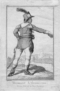 Toussaint L'Ouverture; Sketched from life by Major Rainsford.