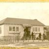 [Great Kills, Exterior, children on front path.]