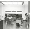 [Hamilton Grange, Desk and readers tables.]