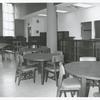 [Hamilton Grange, Tables and empty shelves.]