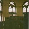 [Jefferson Market Library, Interior, stained glass.]