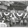 Library for the Blind, Dedication: Mr. Ralph A. Beals, Miss Allessios (at left below flag)