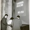 """[Schomburg Collection, exhibit at Central Building, """"Schomburg Collection 1925-1950"""".]"""