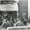 """[Ottendorfer, Exterior, """"Landmark Day"""".]"""