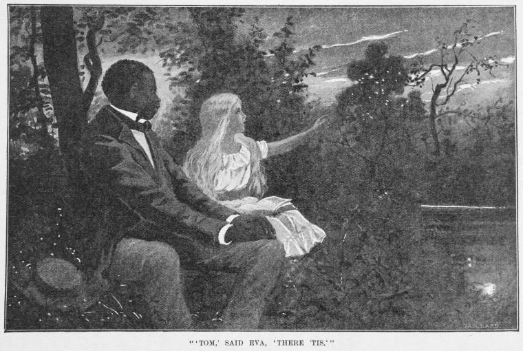 This is What Harriet Beecher Stowe and Tom said Eva there tis. Looked Like  in 1897
