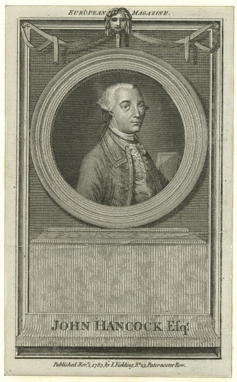 This is What John Hancock Looked Like  in 1783
