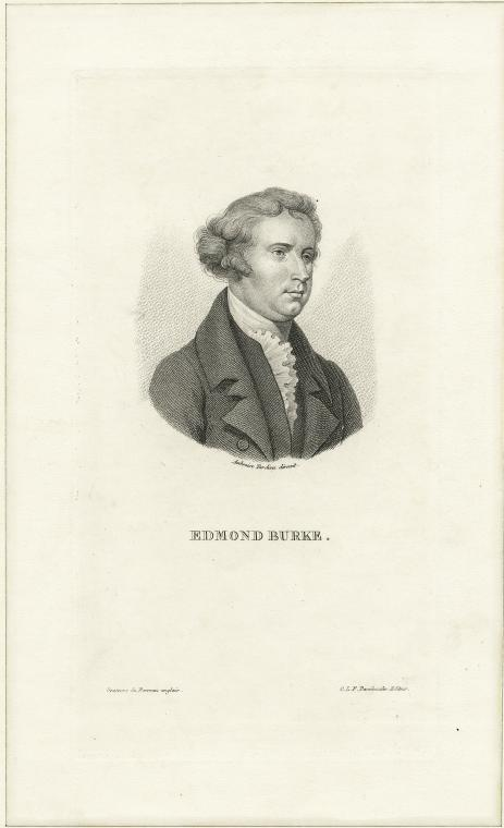 Fascinating Historical Picture of Edmund Burke in 1820