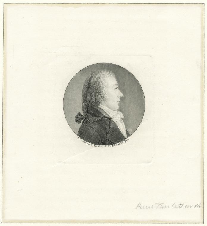 Fascinating Historical Picture of Pierre Van Cortlandt in 1796