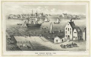 The Ferry House, 1746 (Fulton Street, Brooklyn).