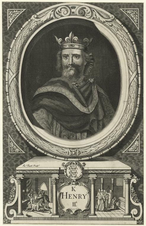 Fascinating Historical Picture of King of England Henry II in 1780