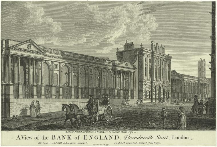 Fascinating Historical Picture of Bank of England in 1797