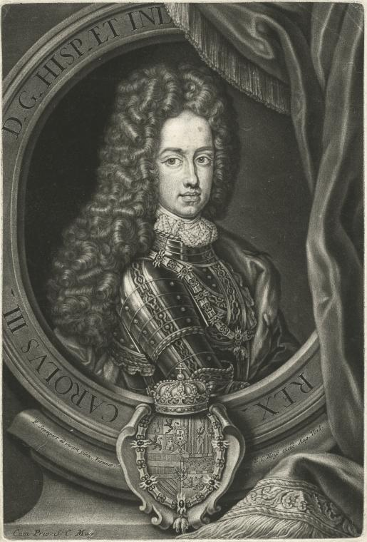 Fascinating Historical Picture of King of Spain Charles III in 1760