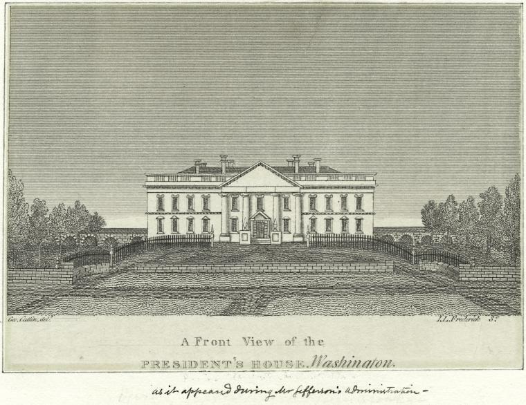 This is What White House Looked Like  in 1810