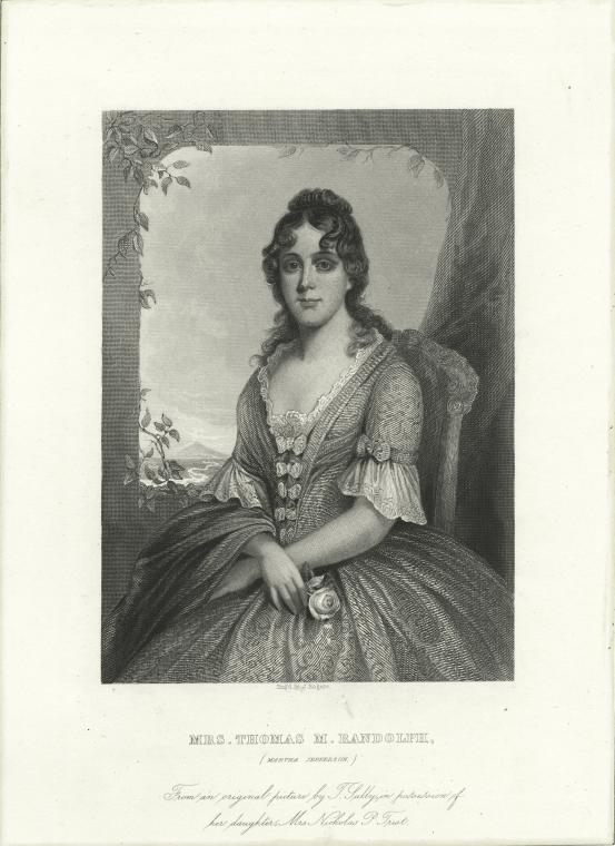 This is What Martha Jefferson Randolph Looked Like