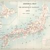 General map of the Government Railways in Japan.