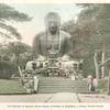 The Daibutsu or Gigantic Bronze Statue of Buddha at Kamakura, a Former Feudal Capital.