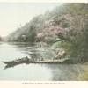 A River Picnic in Spring. - Under the Plum Blossom.