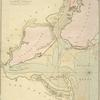 Chart of the entrance of Hudson's River, from Sandy Hook to New York : with the banks, depths of water, sailing-marks, &ca.