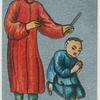 Ancient Chinese. [A child taught to worship idols and tablets of its ancestors(description of card No. 20)].