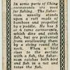 Ancient Chinese. [Cormorants used in fishing(description of card No. 17)].