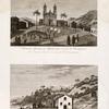 Pliaska arapov v prazdnik na o. Sv. Ekateriny ; Vid mestechka Sv. Mikhaila v Brazilii