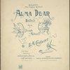 Alma dear