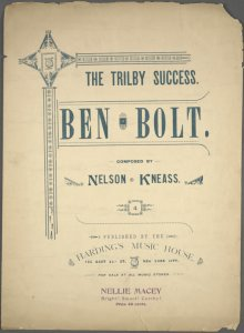 Ben Bolt / composed by Nelson Kneass.