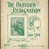 The pastor's resignation