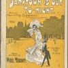 Darktown is out to-night