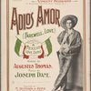 Adios amor : a Mexican love song